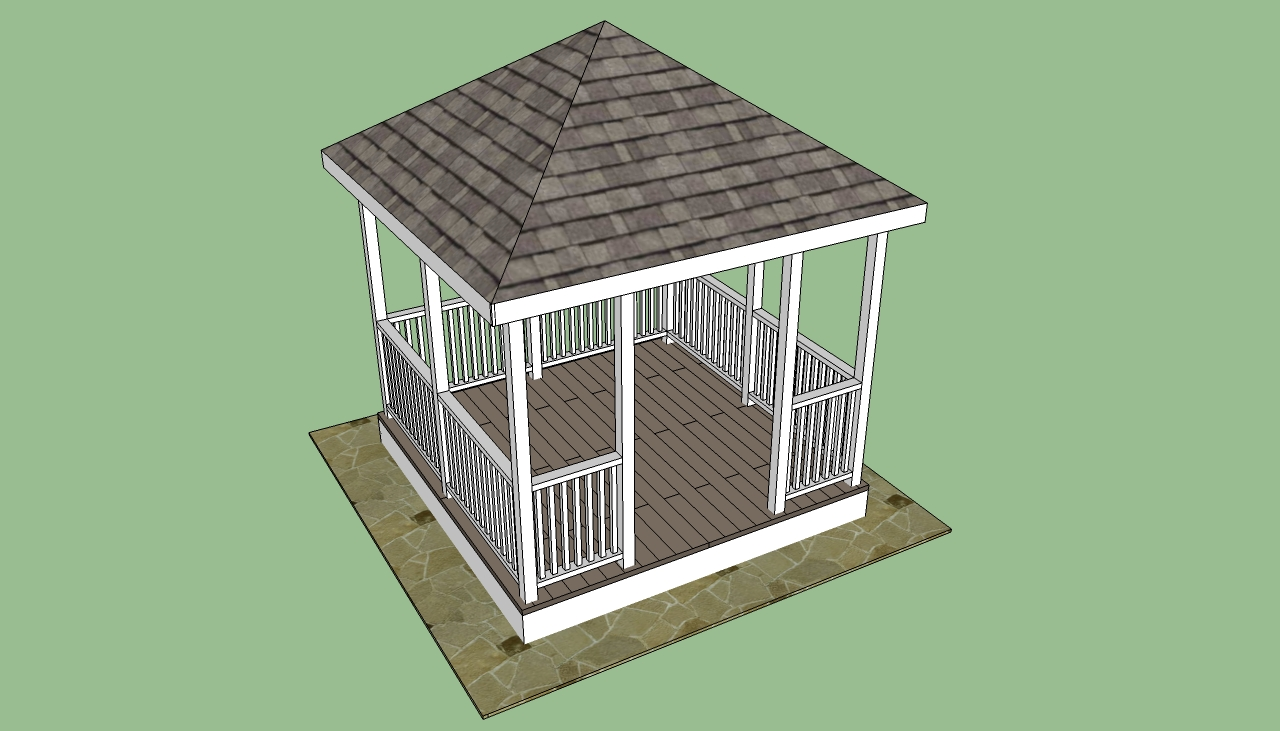 Image of: free gazebo designs and plans