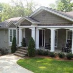 front porch ideas brick ranch