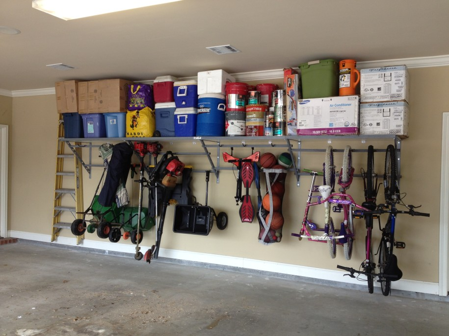 garage storage ideas bikes