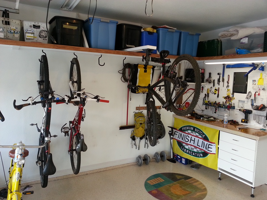Image of: garage storage ideas for sports equipment