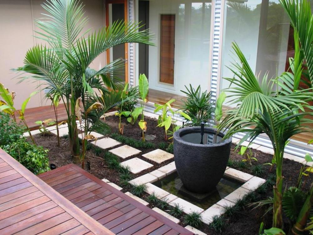 Image of: garden decor ideas home