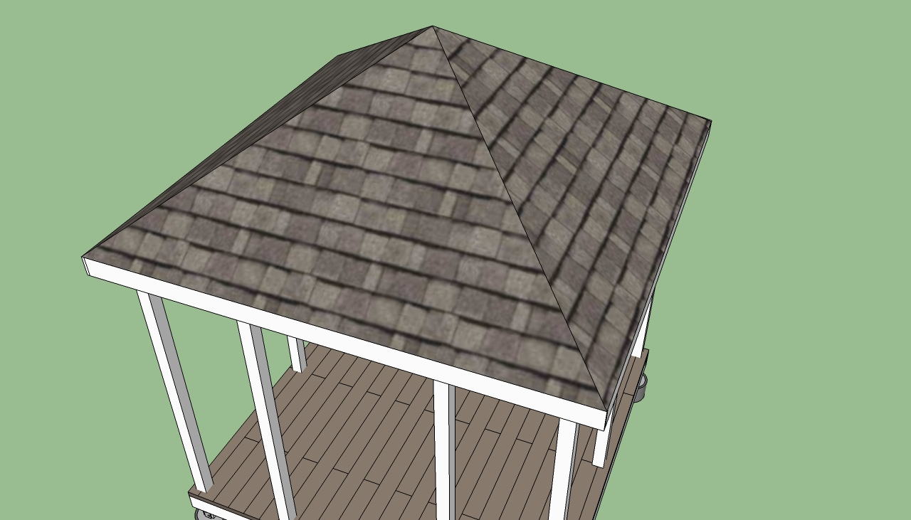 Image of: gazebo roof design