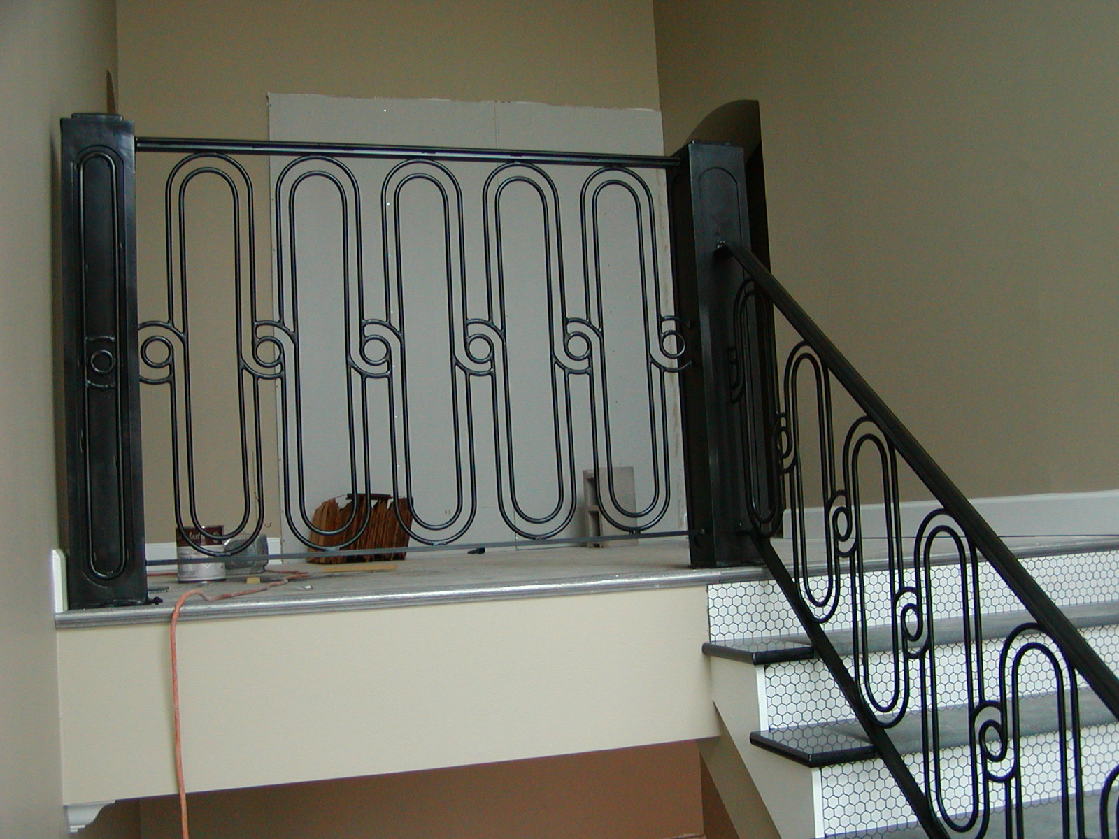 Image of: handrail designs