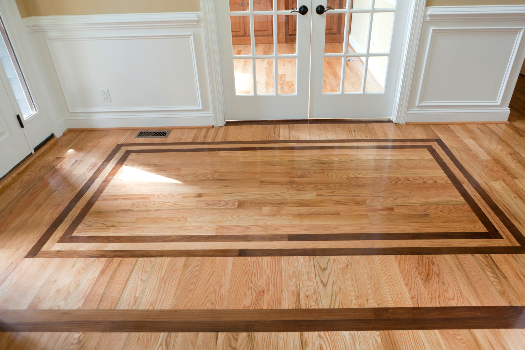 Image of: hardwood floor design