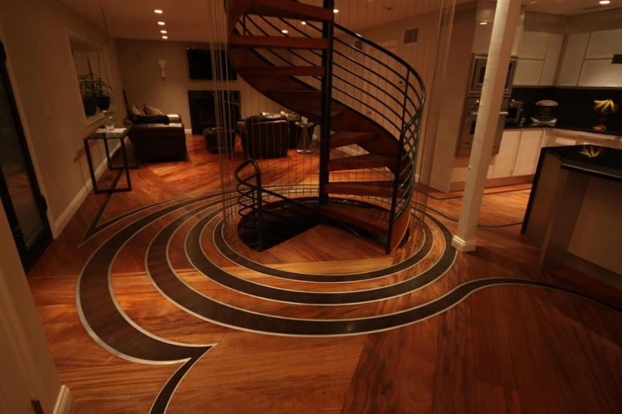 Image of: hardwood flooring design ideas