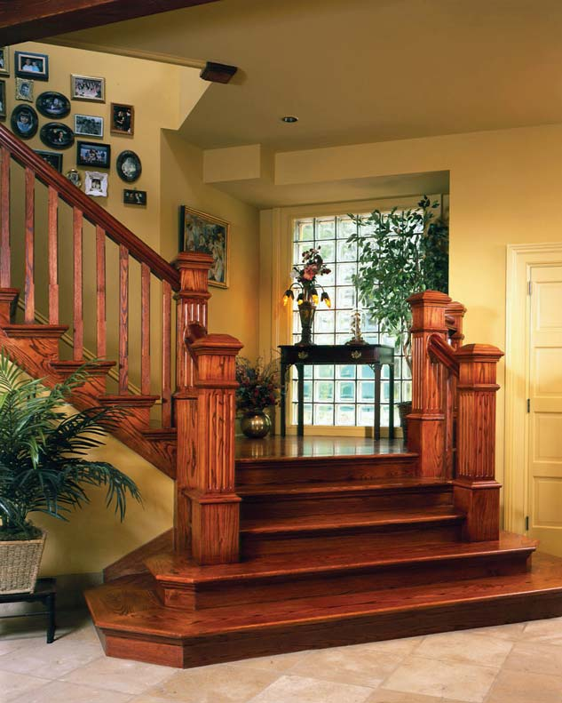 Image of: hardwood staircase ideas