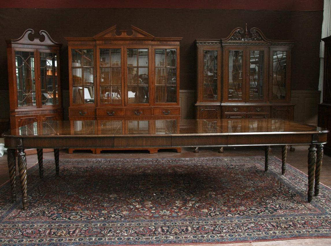 Image of: henredon asian dining table