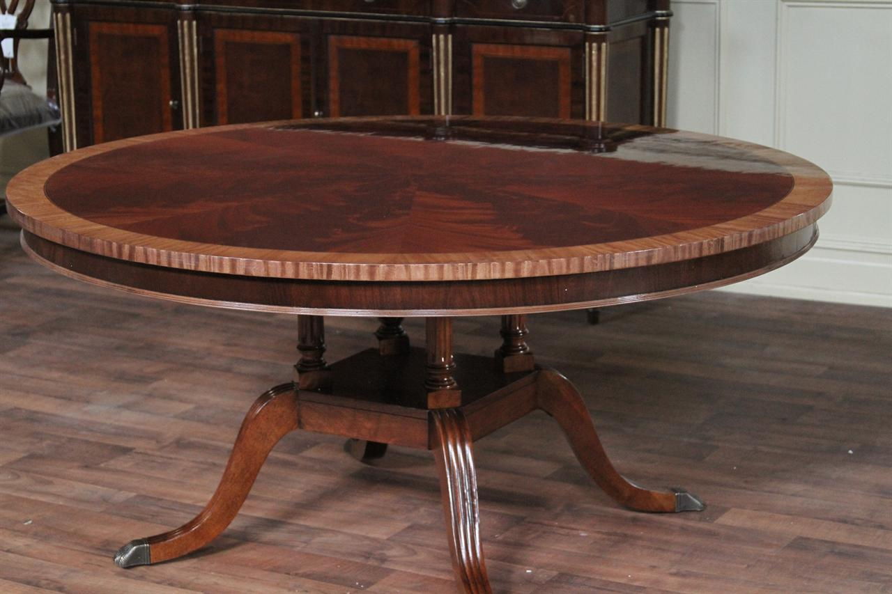 henredon natchez round dining table