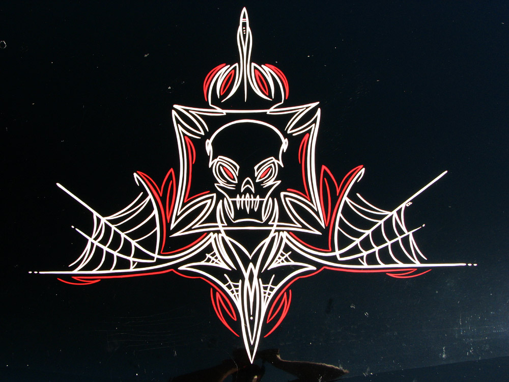 Image of: hot rod pinstriping designs