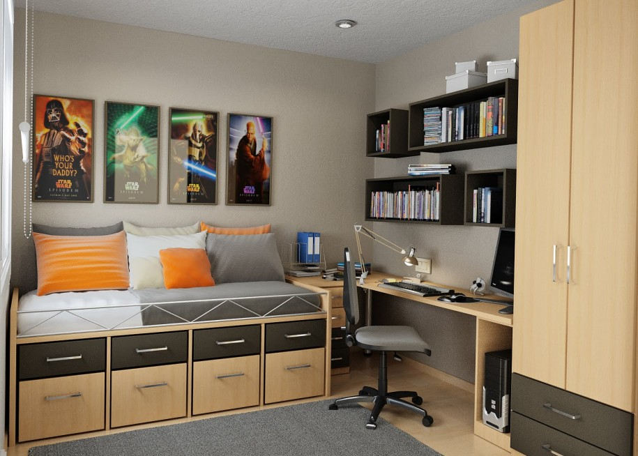 ideas for small bedrooms images