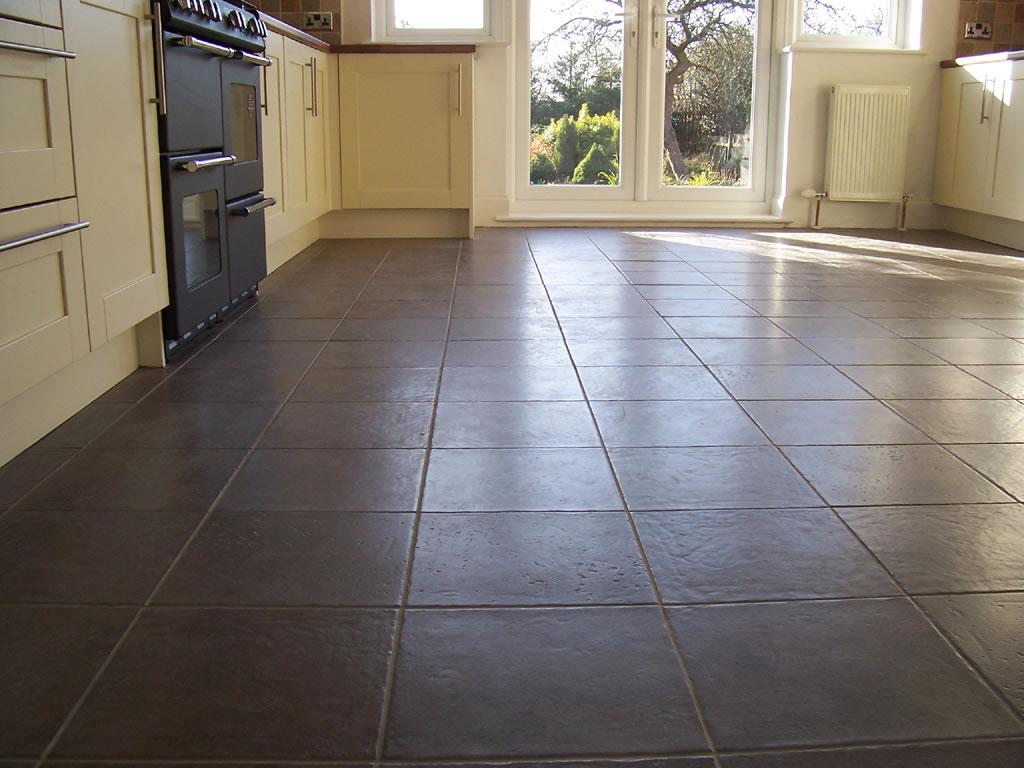 Image of: kitchen floor tiles ceramic