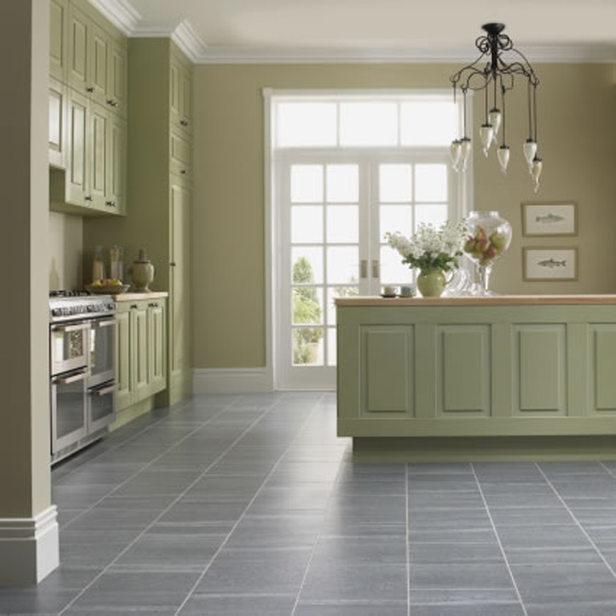 Image of: kitchen floor tiles grey