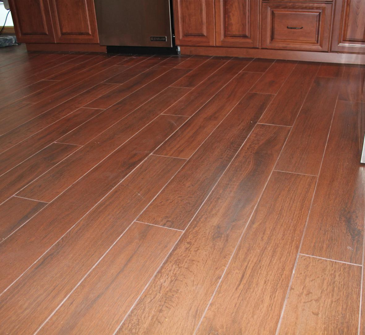 kitchen floor tiles or wood