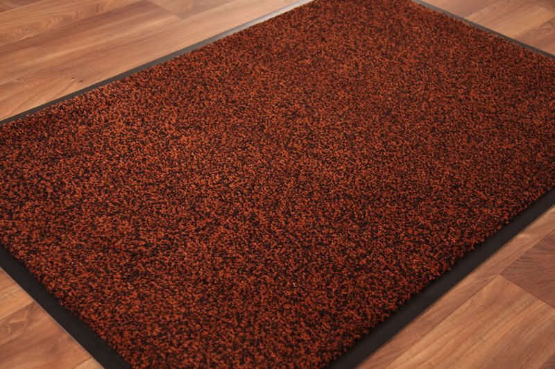 Image of: kitchen rug brown
