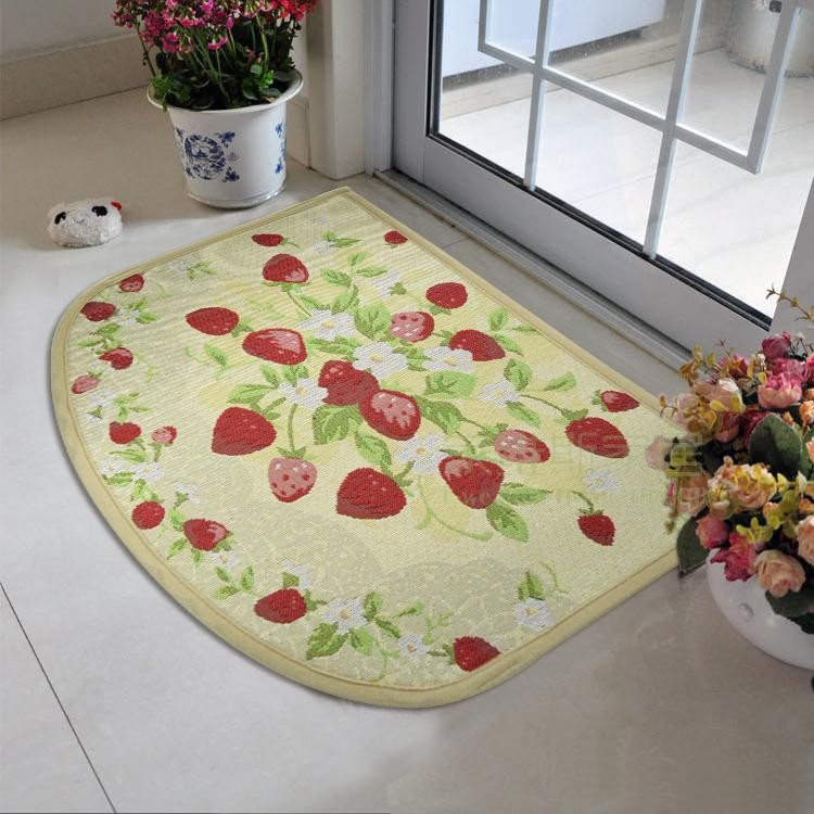 Image of: kitchen rug decor
