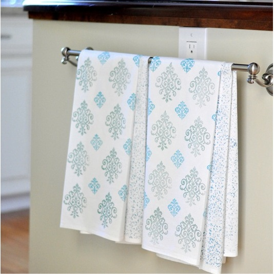 Image of: kitchen towels diy