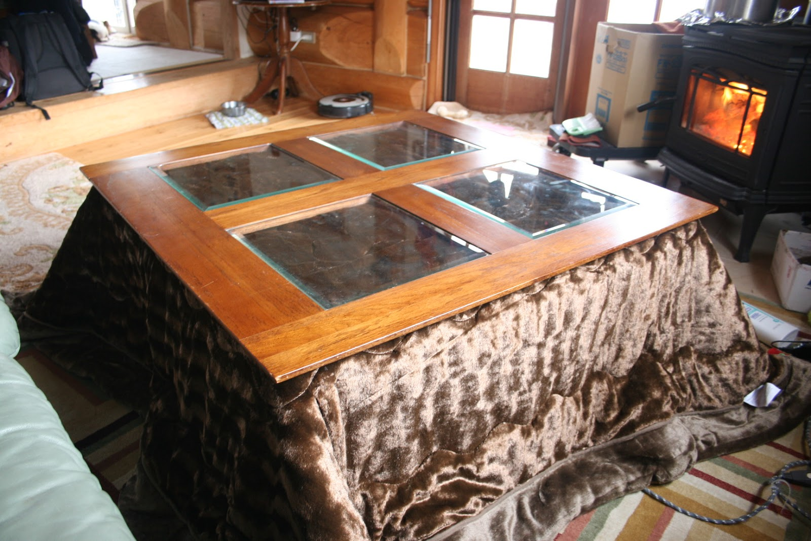 kotatsu dining table