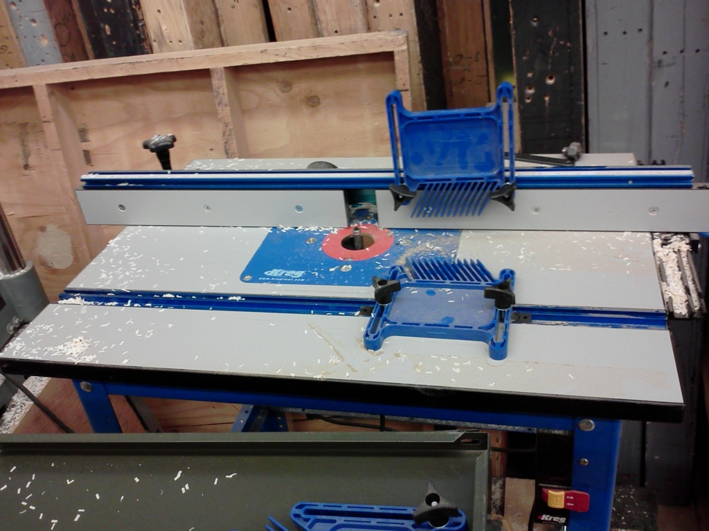 kreg router table extension