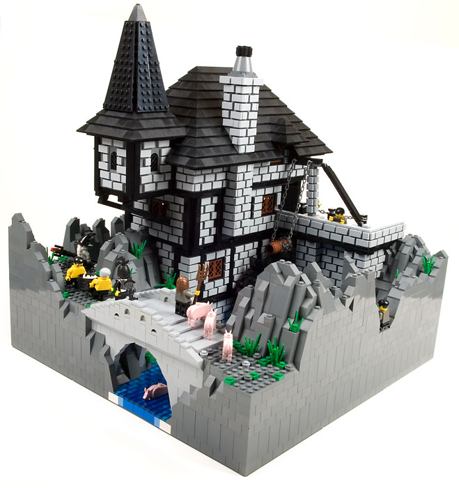 lego building ideas castle