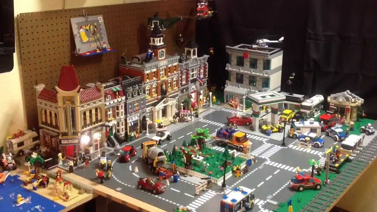 Image of: lego building ideas for a city