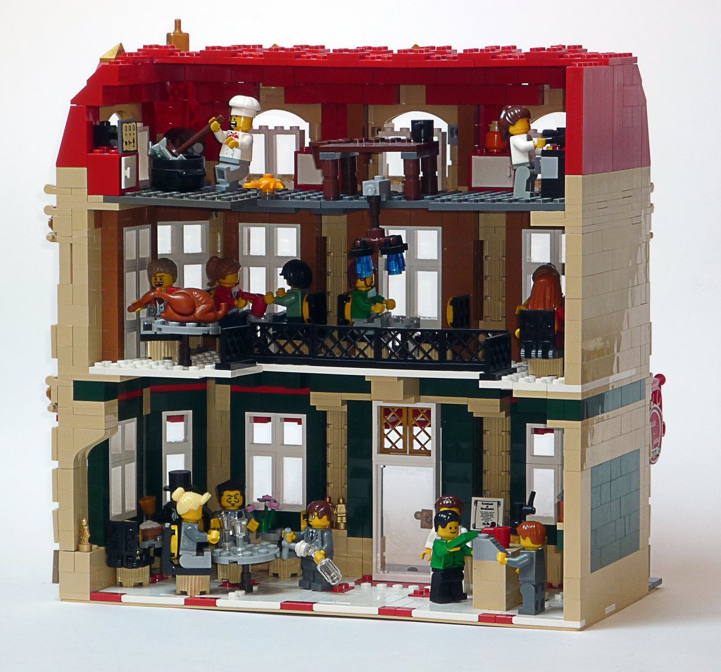 Image of: lego house building ideas