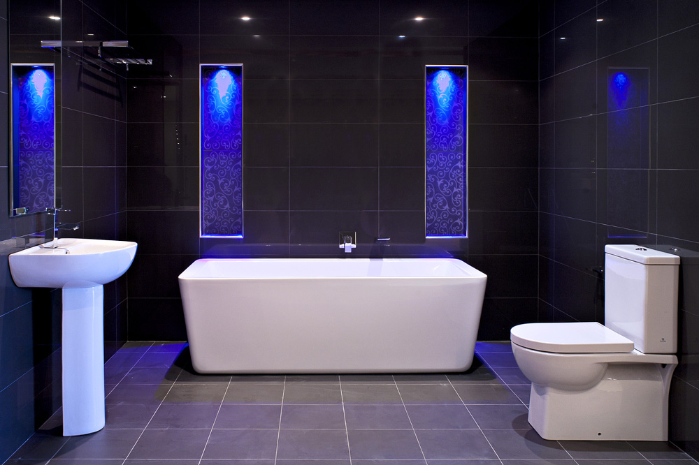 Image of: lighting ideas in bathroom