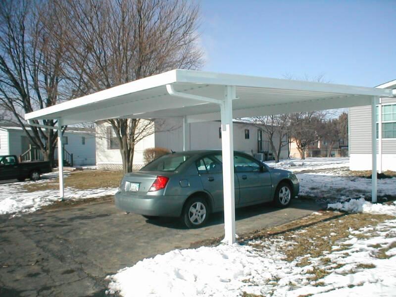 Image of: metal carport designs