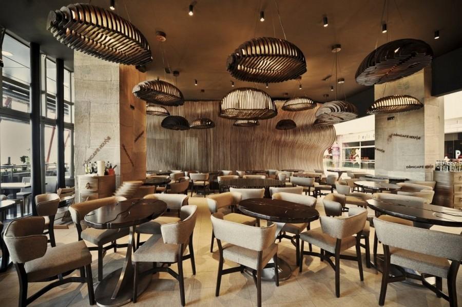 Image of: minimalist interior design cafe
