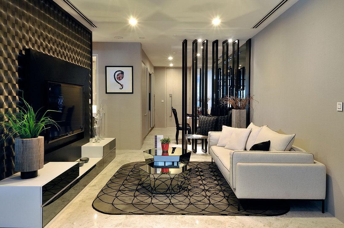 Image of: minimalist interior design condo