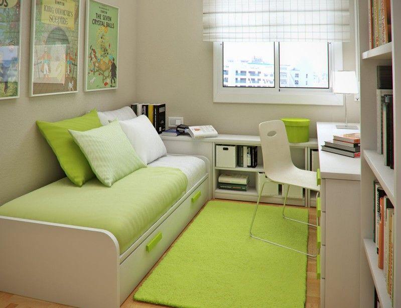 Image of: minimalist interior design for small bedroom