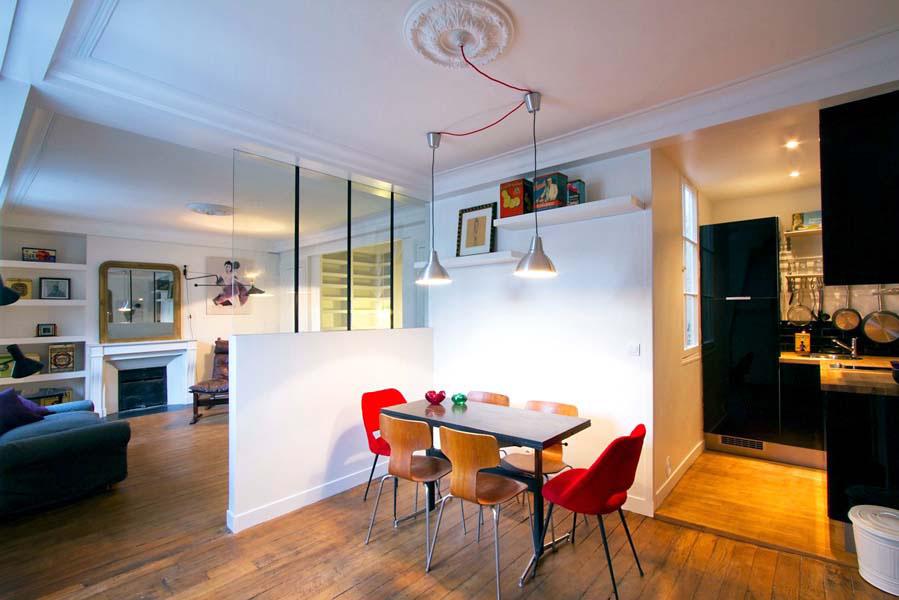 Image of: minimalist studio apartment interior design