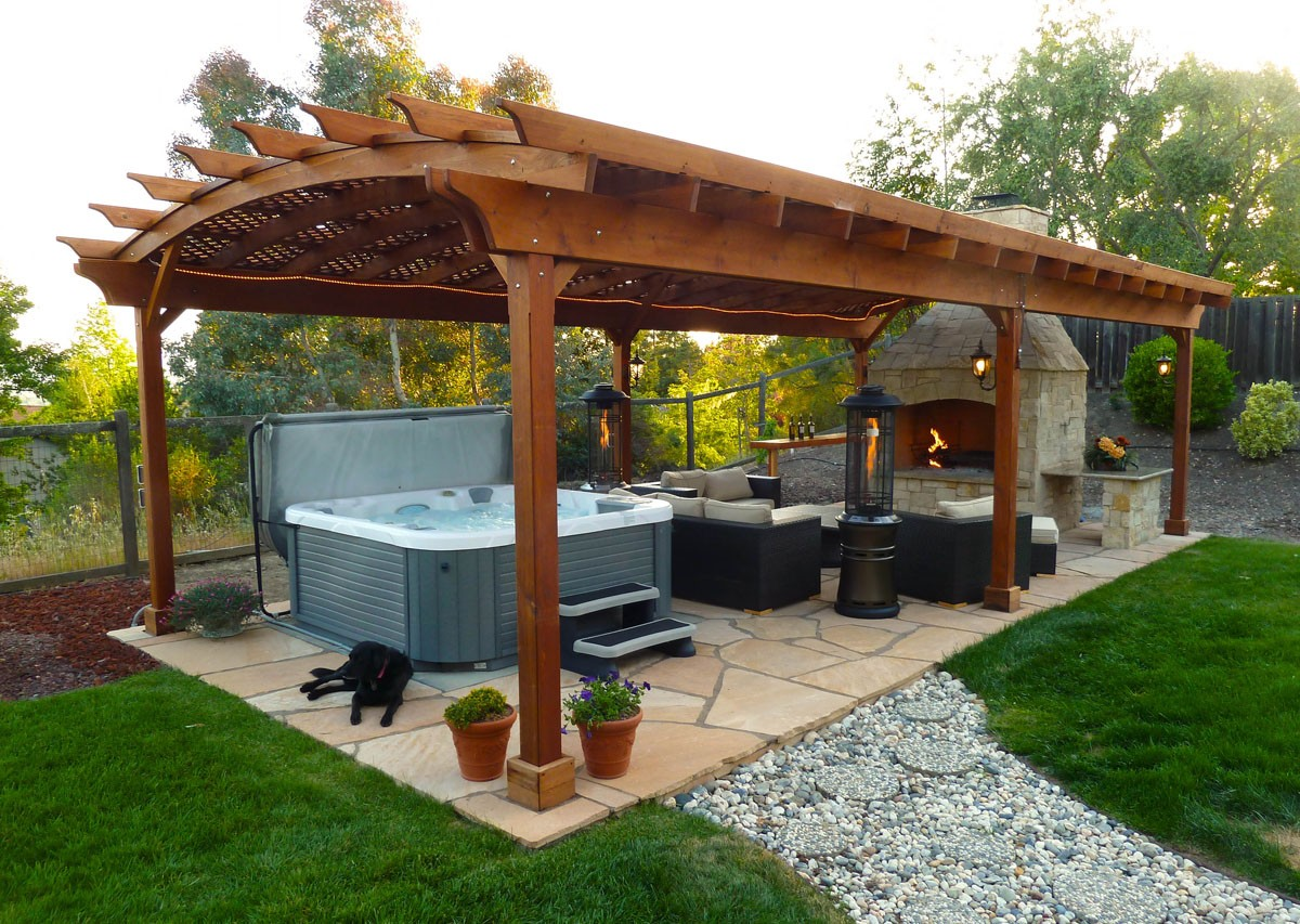 Image of: outdoor gazebo designs