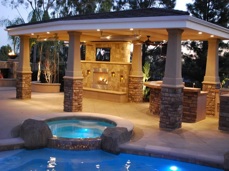 outdoor patio cover designs