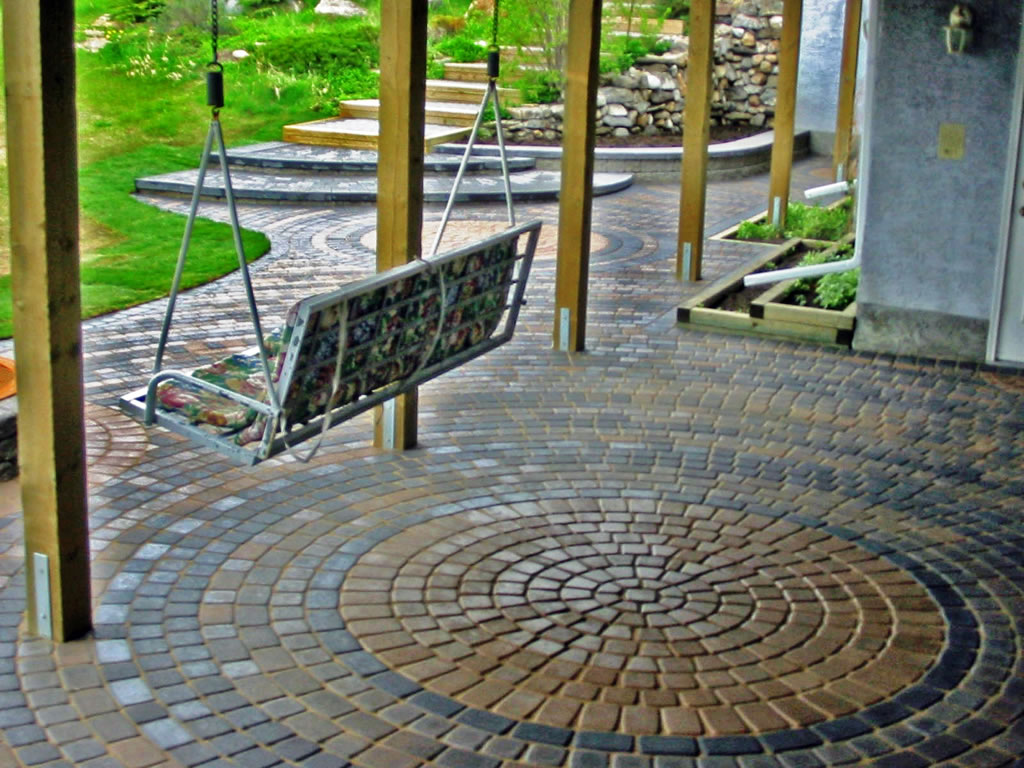 patio brick designs