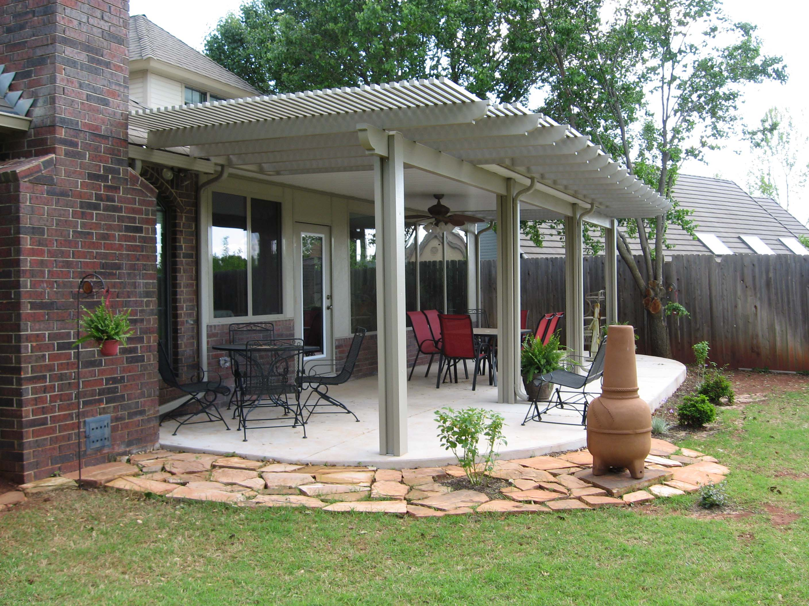 Image of: patio covers designs