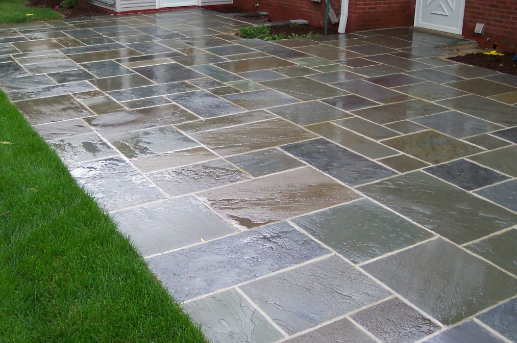 Image of: patio paver design ideas
