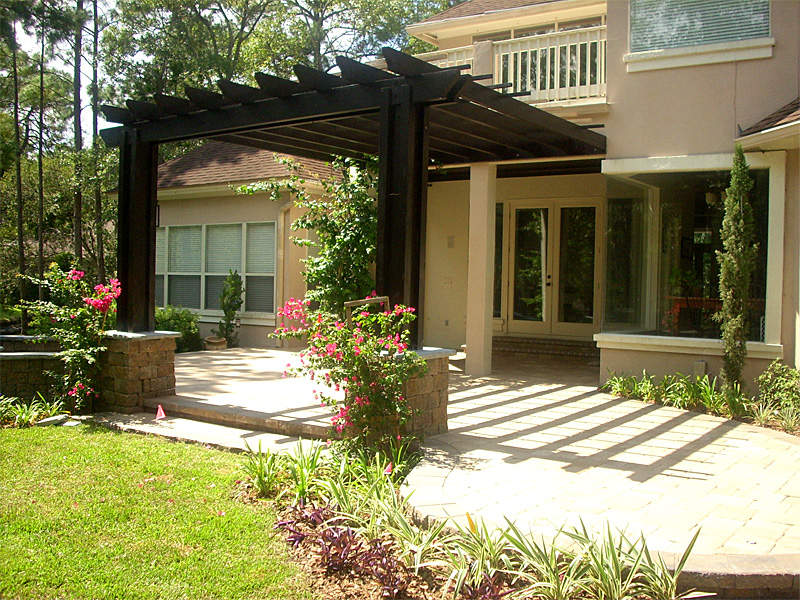 Image of: pergola designs for patios