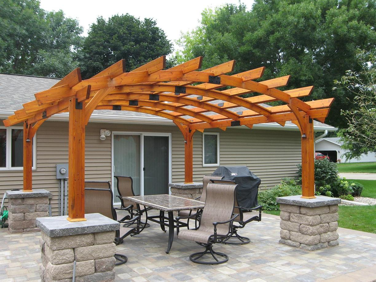 Image of: pergola designs pictures