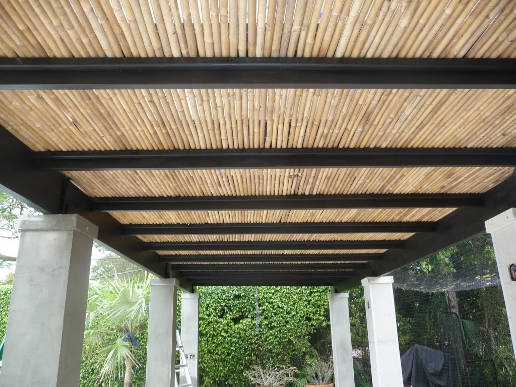 Image of: pergola roof design
