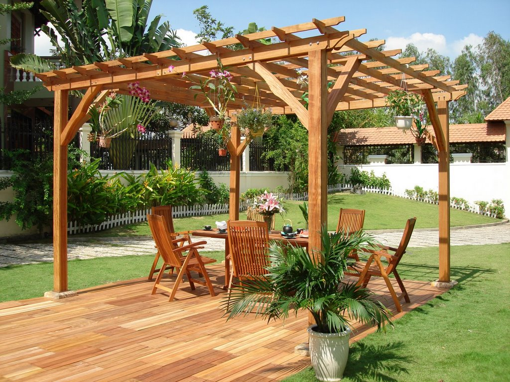 Image of: pergolas designs