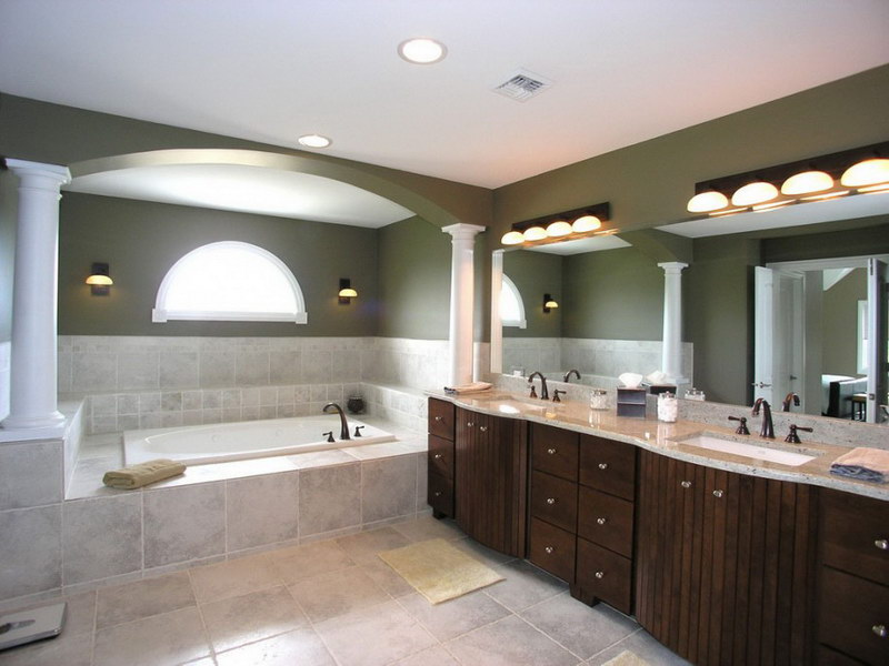 Image of: pictures of bathroom lighting ideas