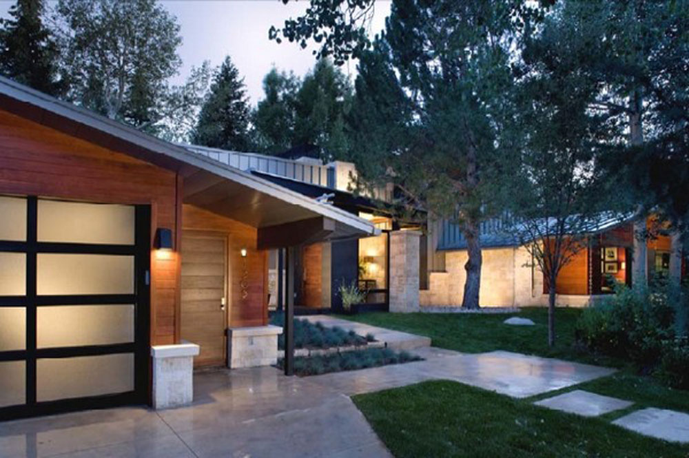 Image of: ranch house design