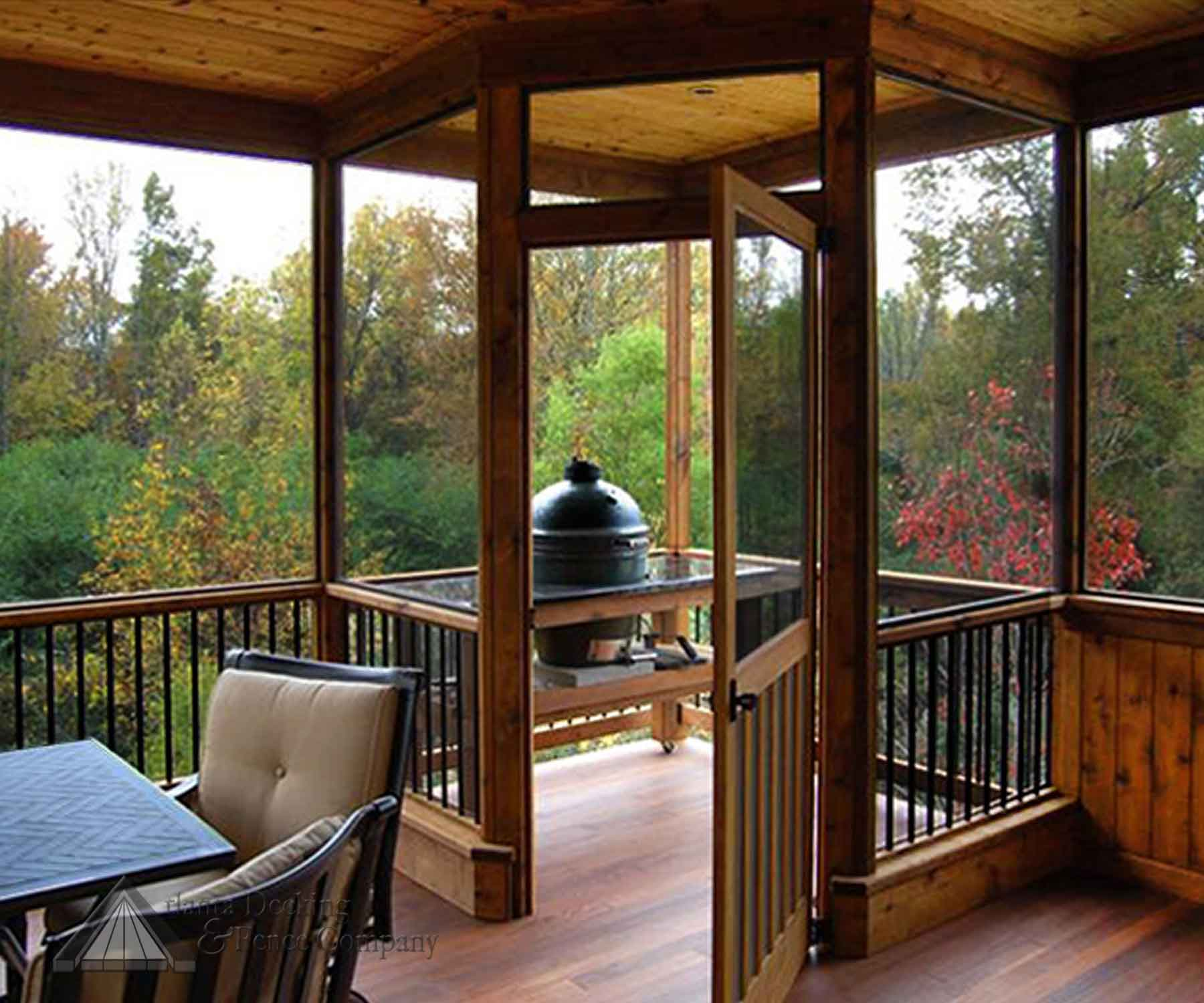 Image of: screened in porch designs for houses