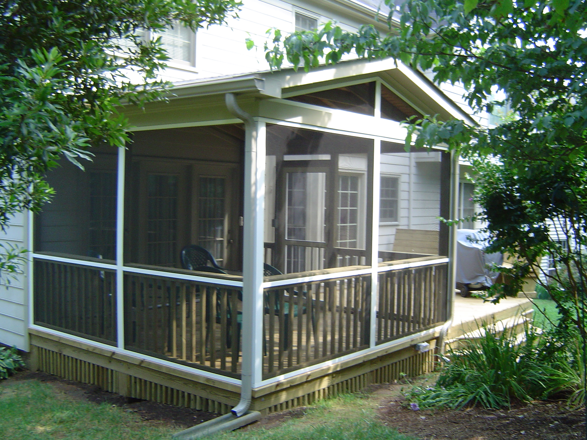 Image of: screened porch designs