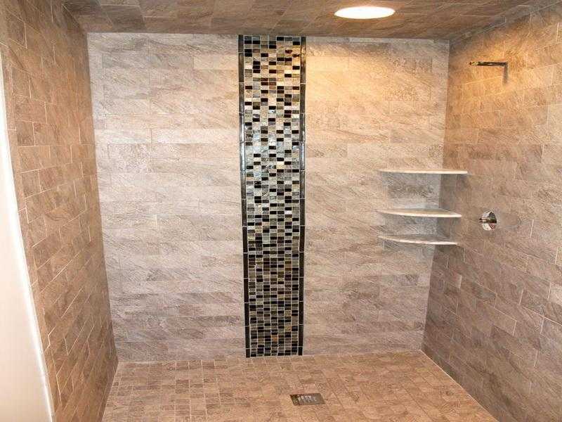Image of: shower designs with tile