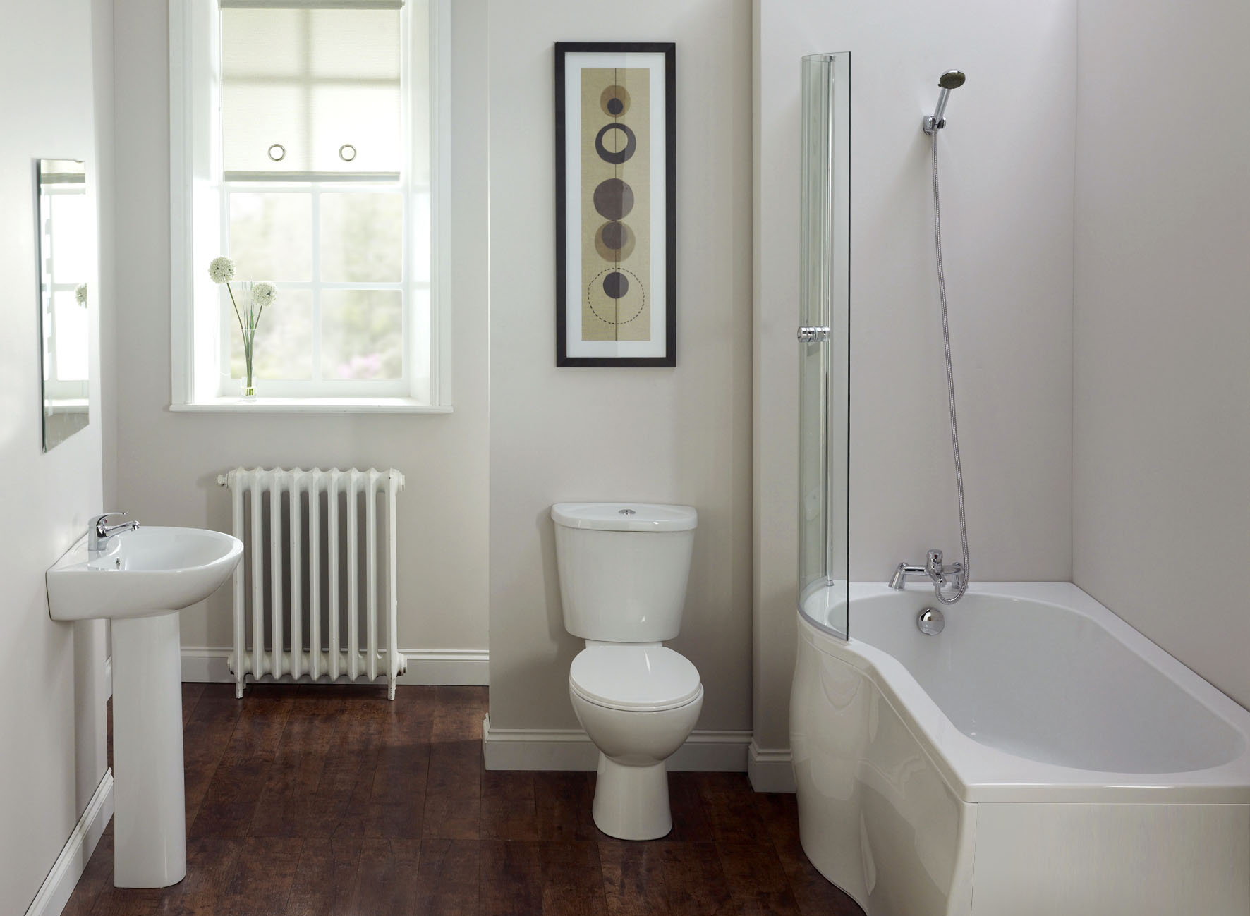 simple affordable bathroom designs