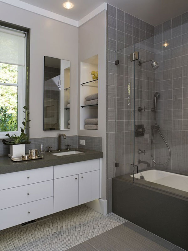 Image of: simple bathroom designs for small bathrooms