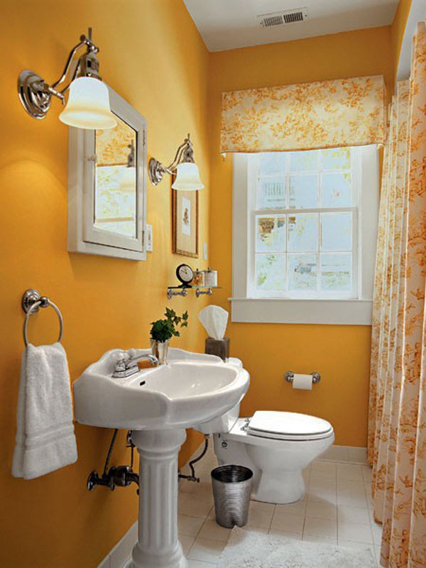 Image of: simple bathroom designs for small spaces