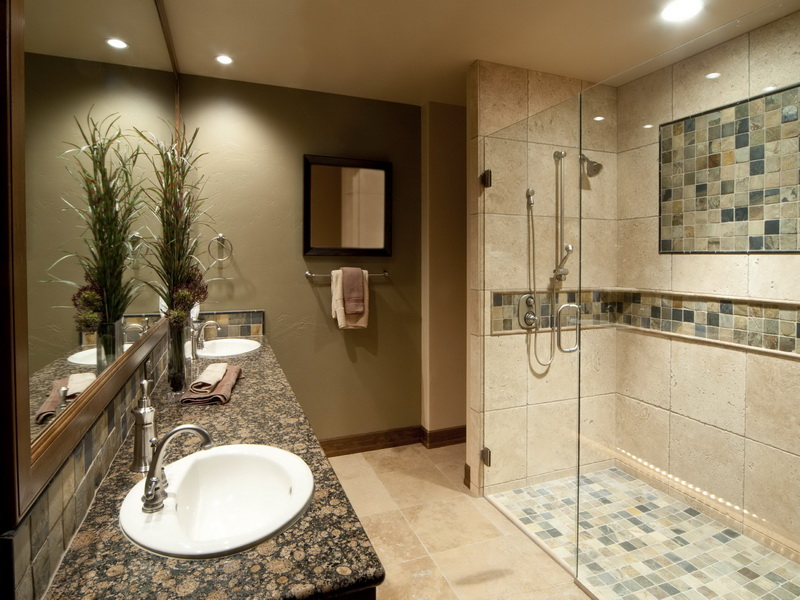 Image of: simple bathroom remodel cost