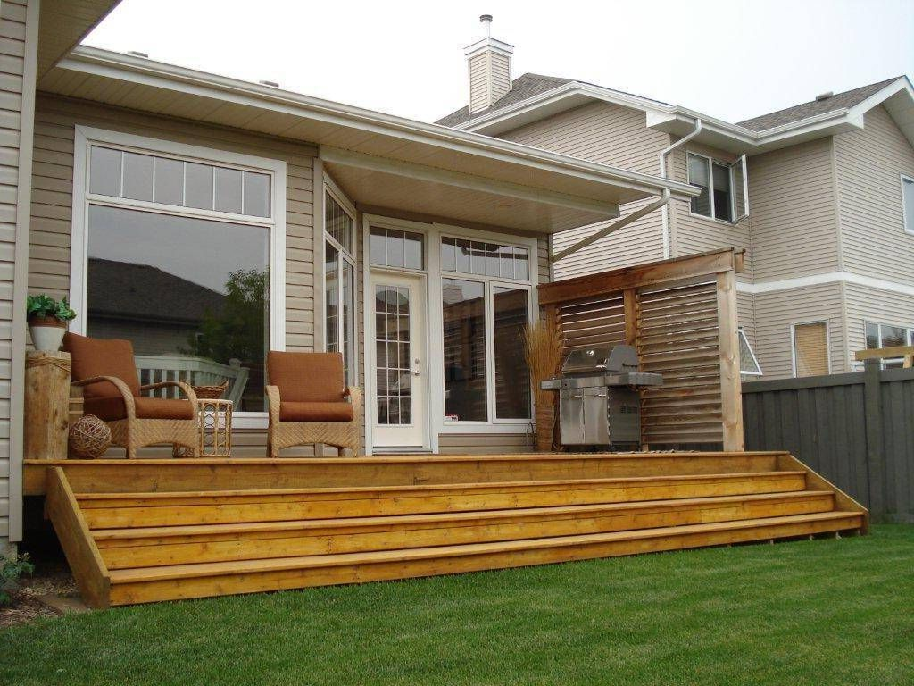 small backyard deck designs